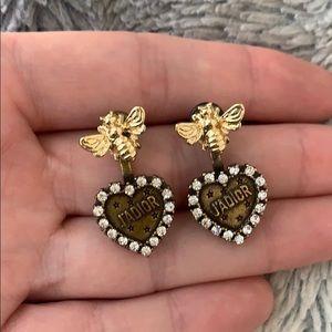 Dior bee earrings